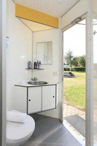 In Overijssel kamperen met privé sanitair