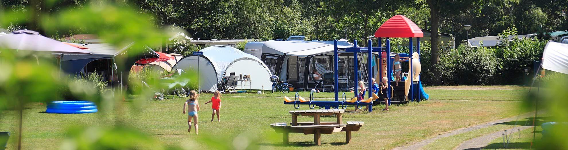 Kamperen in Overijssel op kindvriendelijke camping in Heino