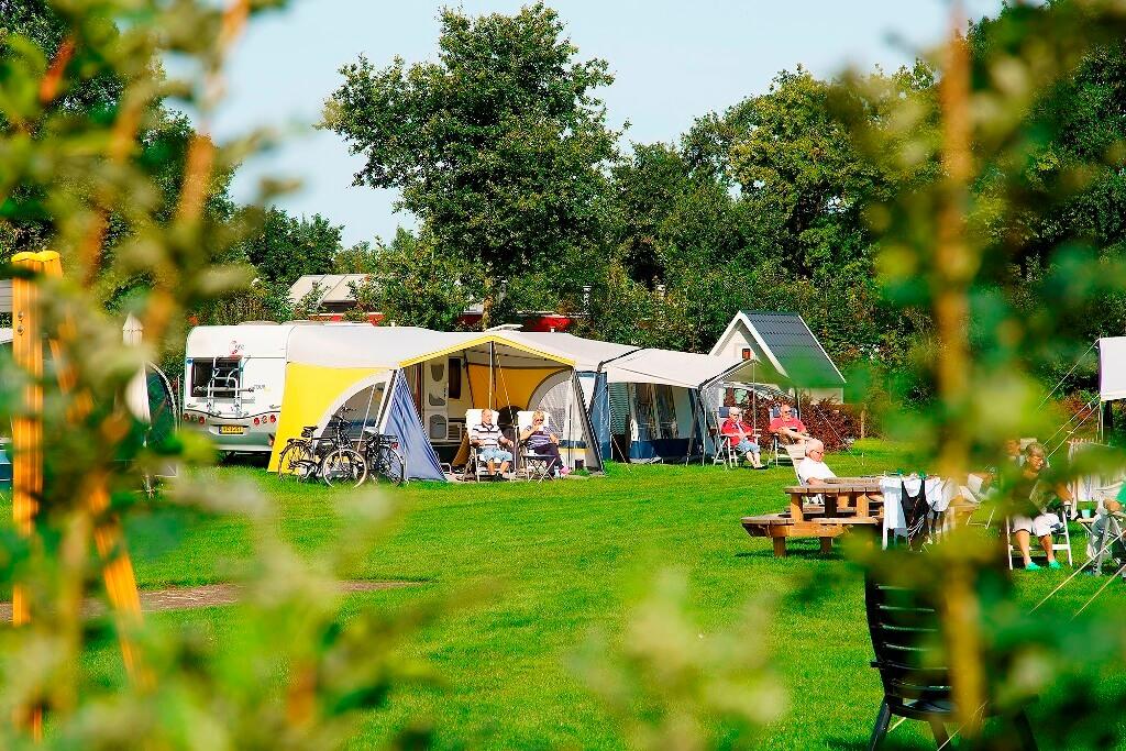 September maand kamperen in Overijssel senioren