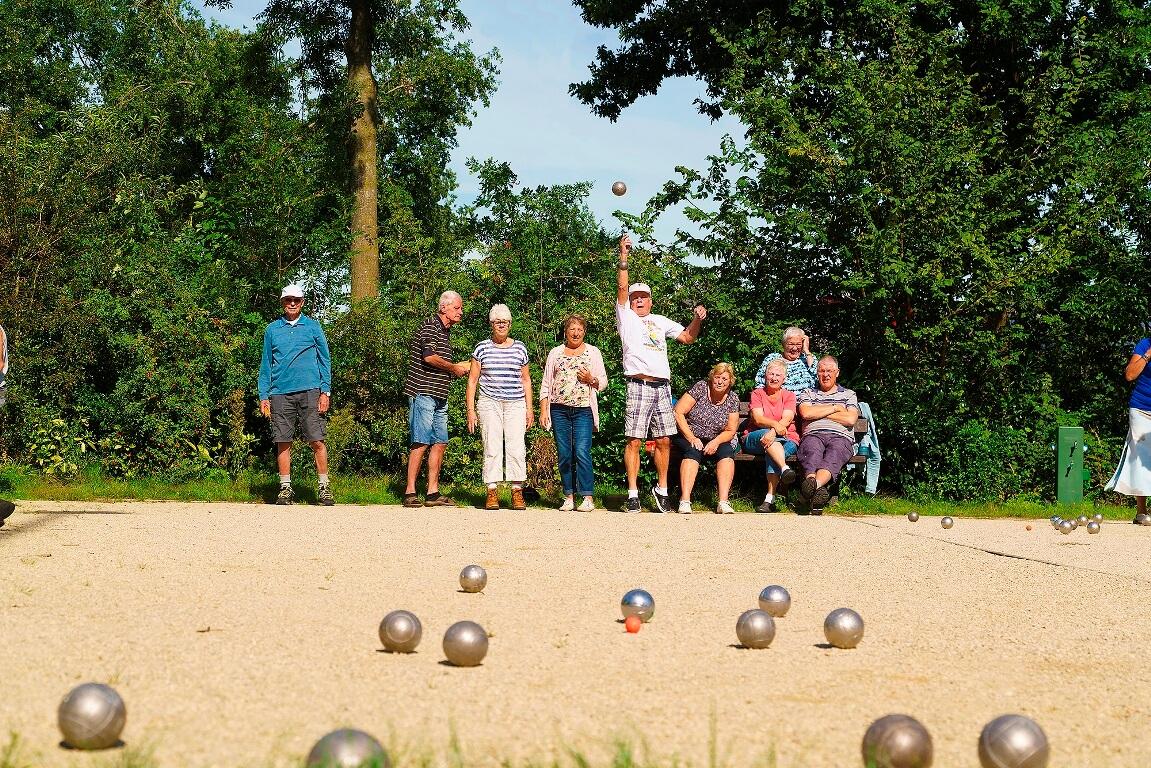 9 Jeu de boules banen op Camping Heino