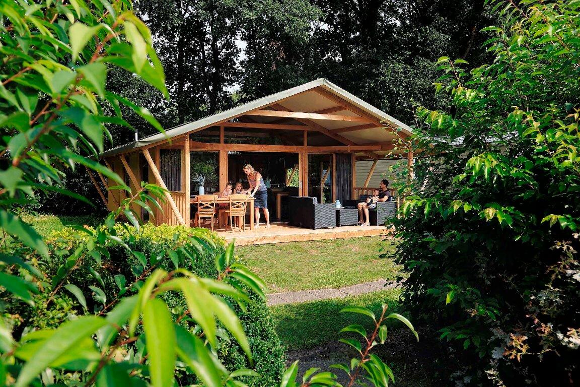 Accommodatie - glamping lodge Camping Heino