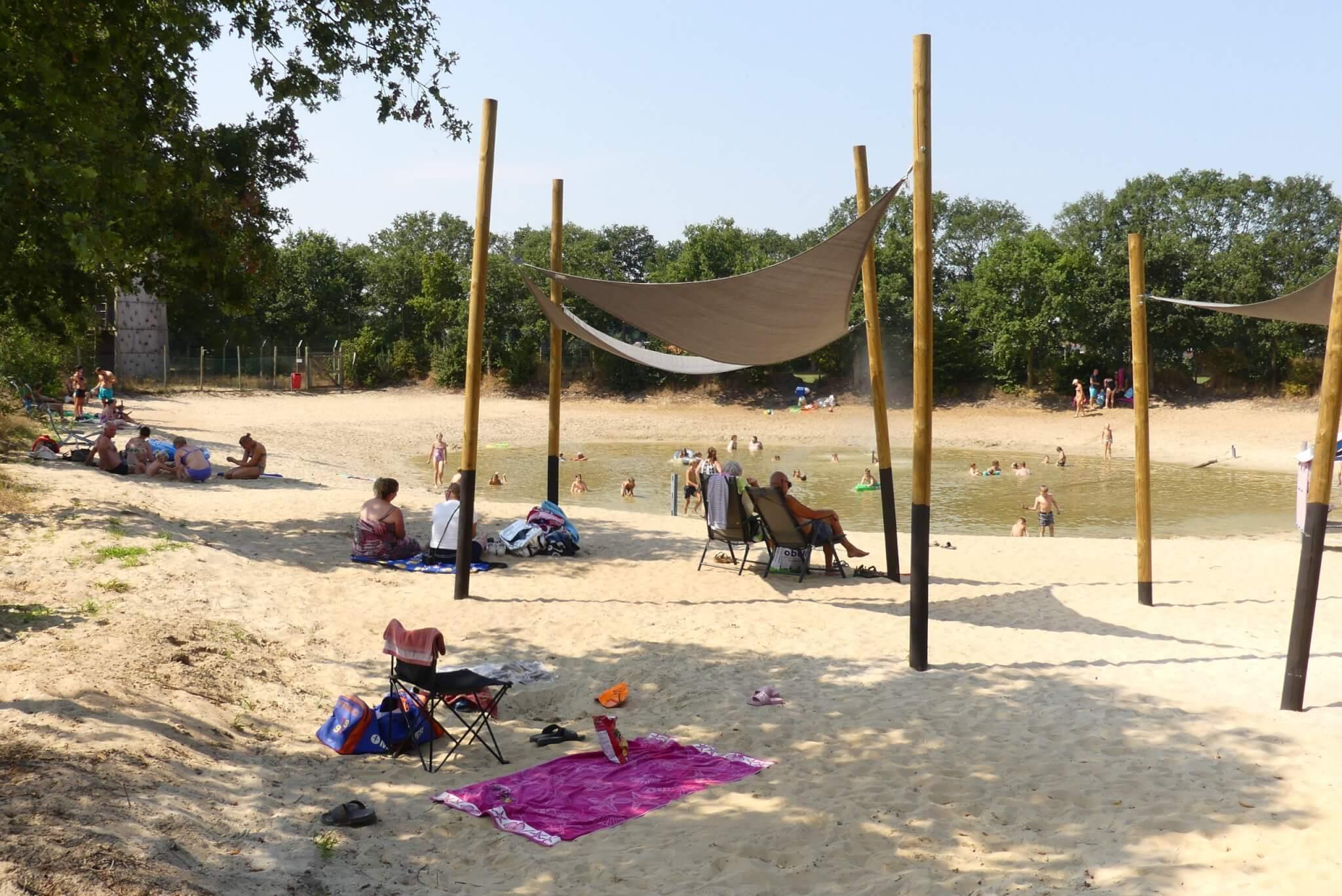 Kleine recreatieplas in Overijssel bij Camping Heino